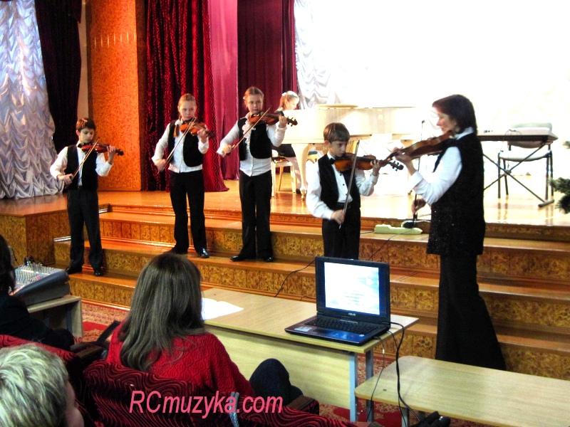 Ансамбль скрипачей
