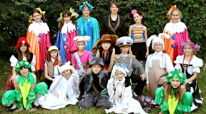 Детский театр песни Веселинка