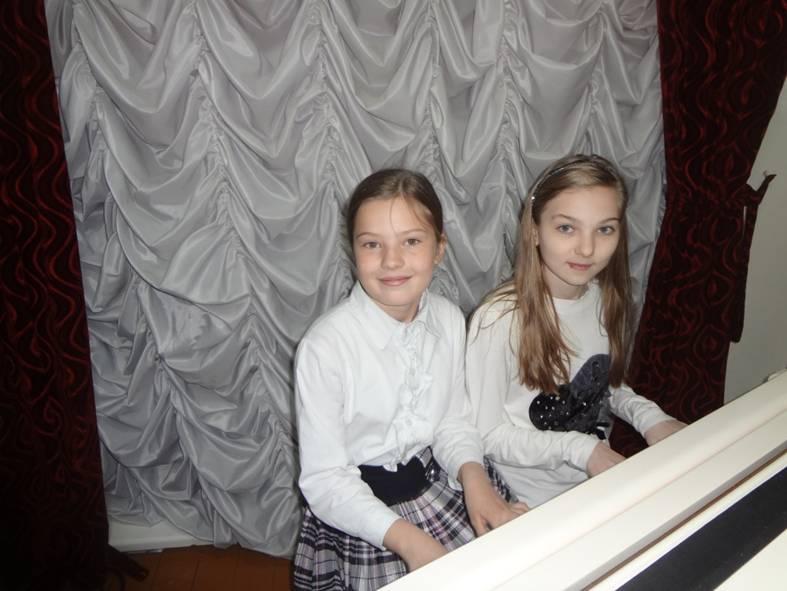 Дуэт фортепианного отделения