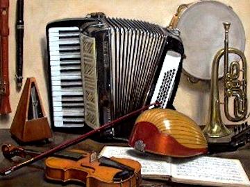 Народные музыкальные инструменты