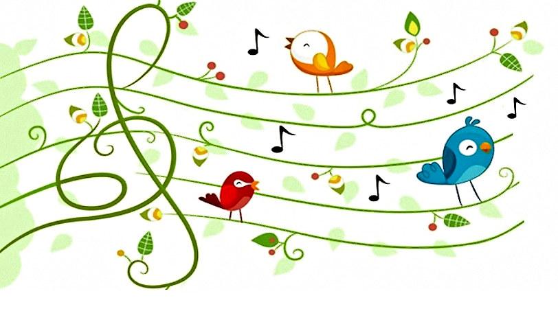 Нотки и птицы