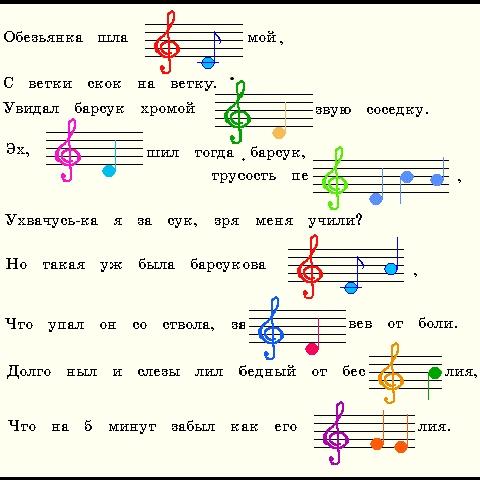Повторяем ноты