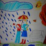 Осенний дождик — Ангелина Б. (8 лет)
