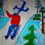Зима — Маша Бортник