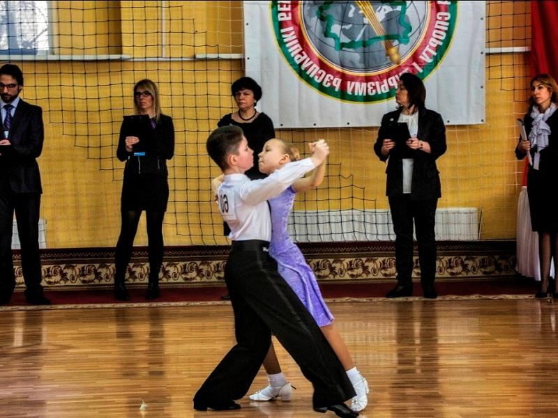 На конкурсе Маша Денисова и Влад Михно