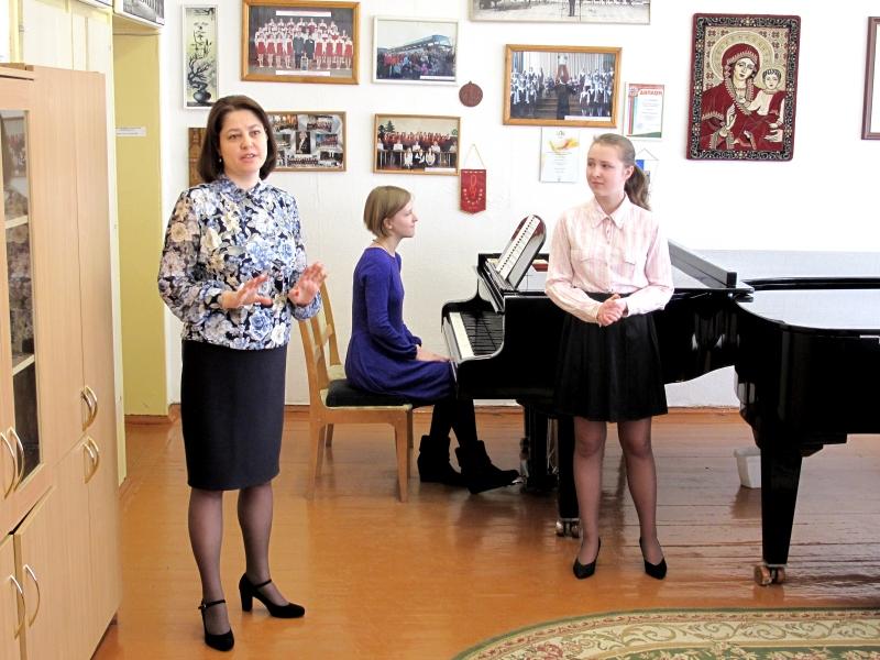 На мастер-классе О.Рузиной