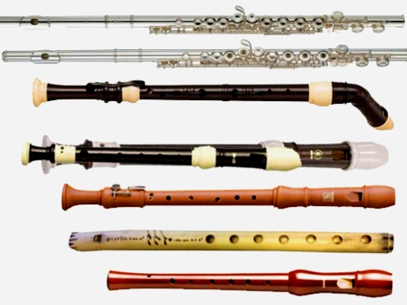 Флейты - разновидности