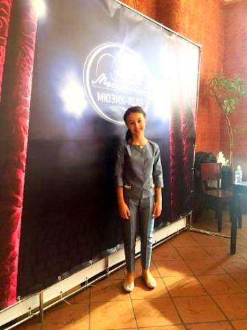 Руслана Панчишина - представитель Беларуси на Детской Новой волне 2016
