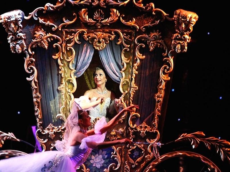Сцена из балета Золушка