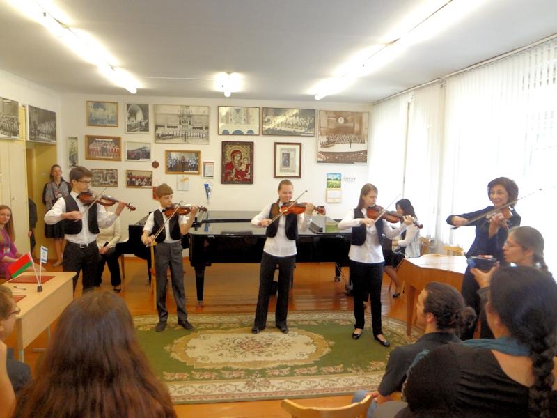 Ансамбль Cantabile - израильская мелодия