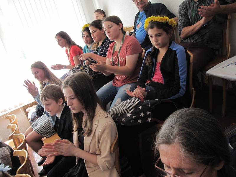 Зрители на фортепианном концерте
