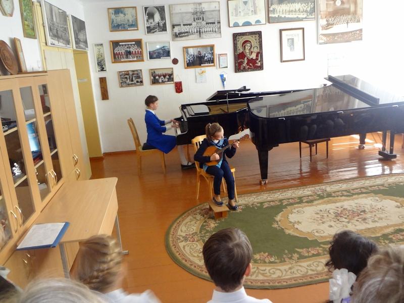 Концерт ансамблевой музыки - домра-фортепиано