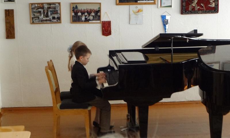 Концерт фортепианных ансамблей