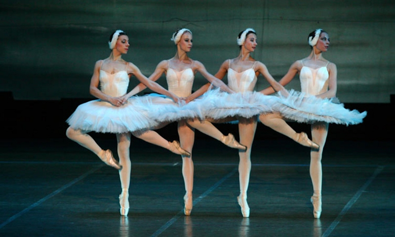 П.И.Чайковский Танец маленьких лебедей