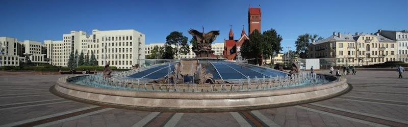 Площадь Независимости - экскурсия по городу