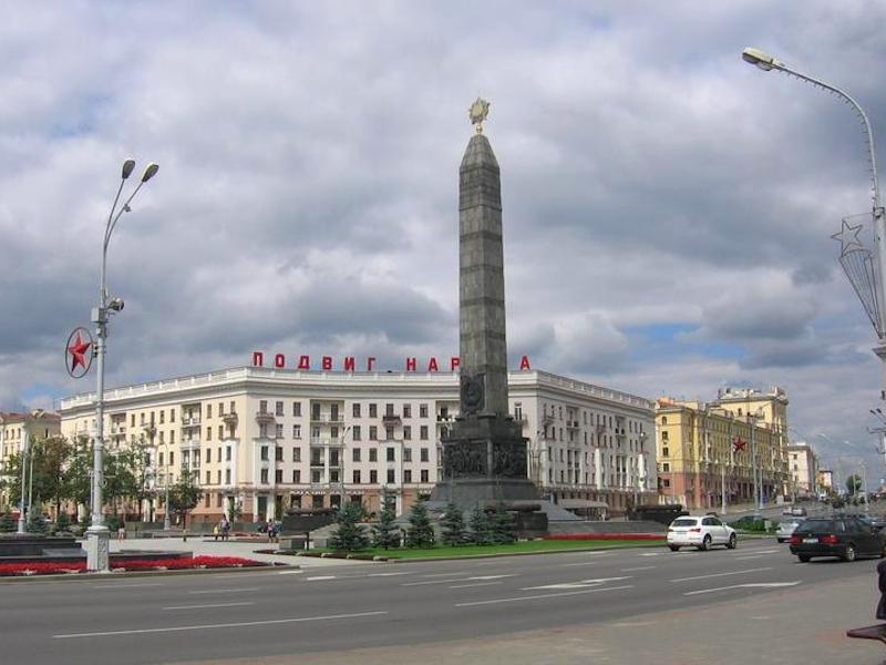 Площадь Победы - экскурсия по Минску