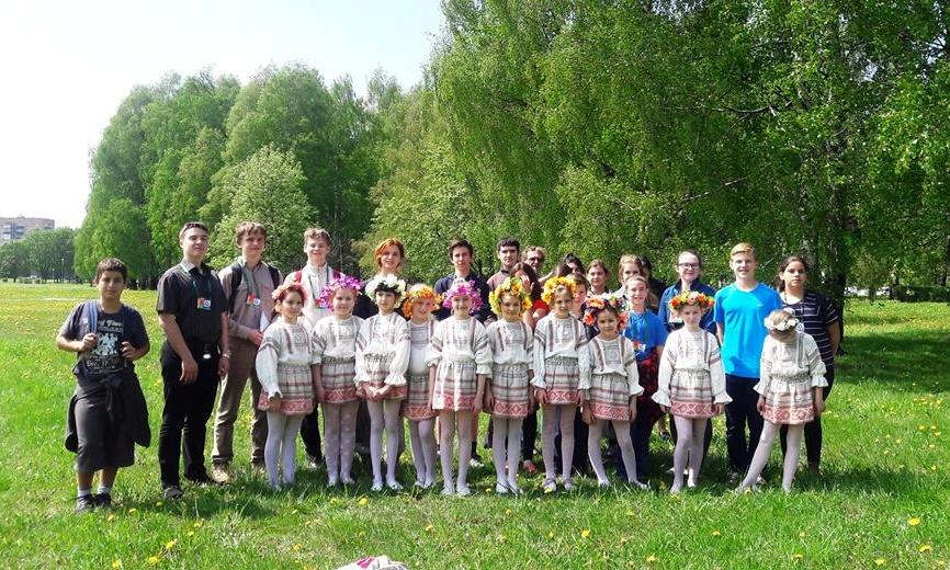 В парке Дружбы народов