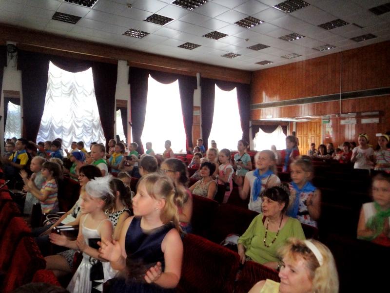Отчетный концерт летнего лагеря