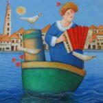 Ada Breedveld Muziekboot.