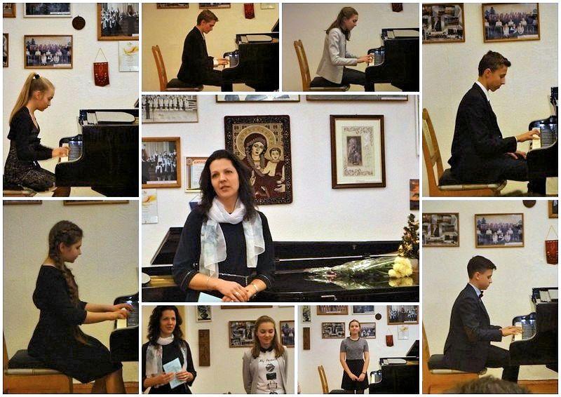 На концерте класса С.Ю. Кузнецовой