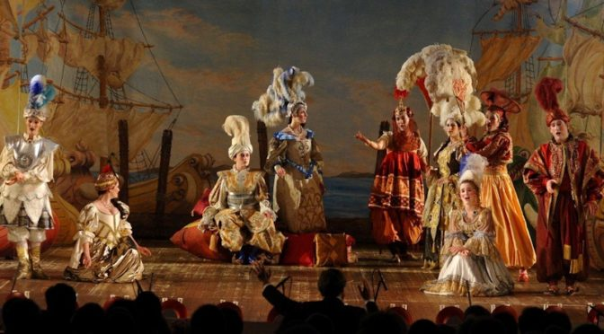 Первая опера Эвридика