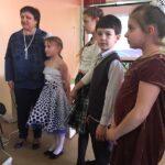 И.И.Мангова с учениками - Слоним