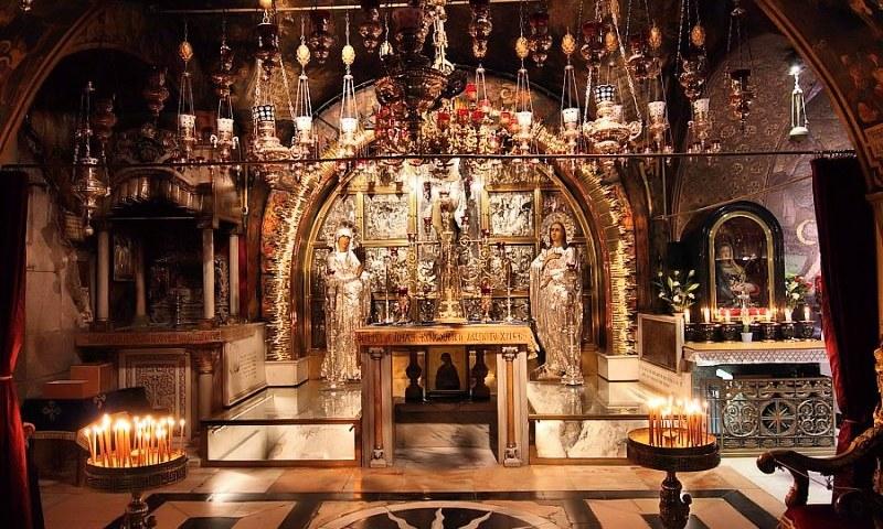 Храм Гроба Господня - Голгофа