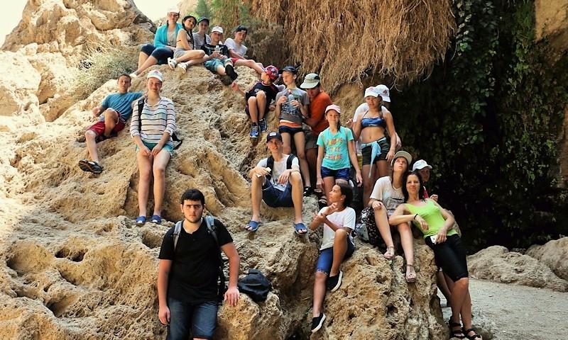 Наши гимназисты в Араве