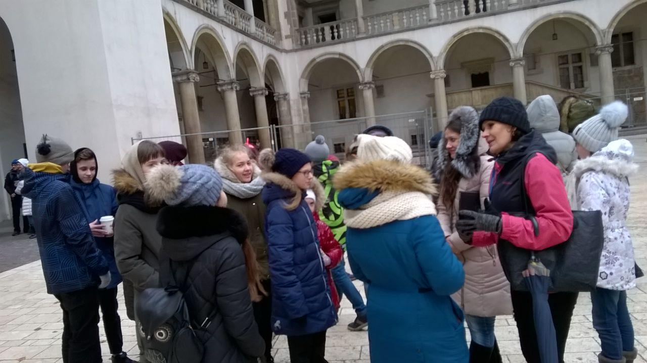 Экспкурсия по Кракову
