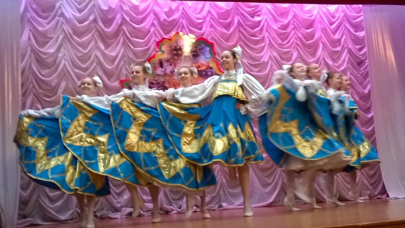 Образцовый ансамбль танца Скавыш
