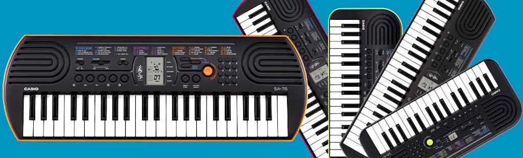 Синтезаторы CASIO для детей