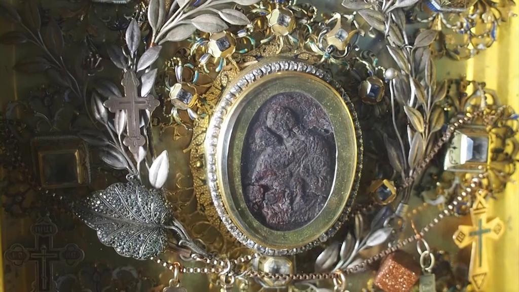 Икона Жировицкой Божьей Матери