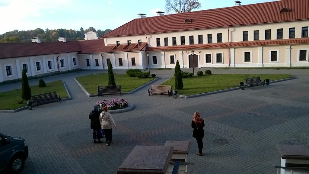 Территория Жировицкого монастыря