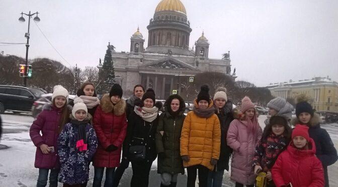 Наши гимназисты на конкурсе «Невские перспективы»