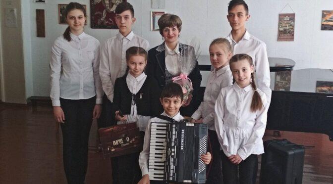 А.А.Матовицкая и ее ученики