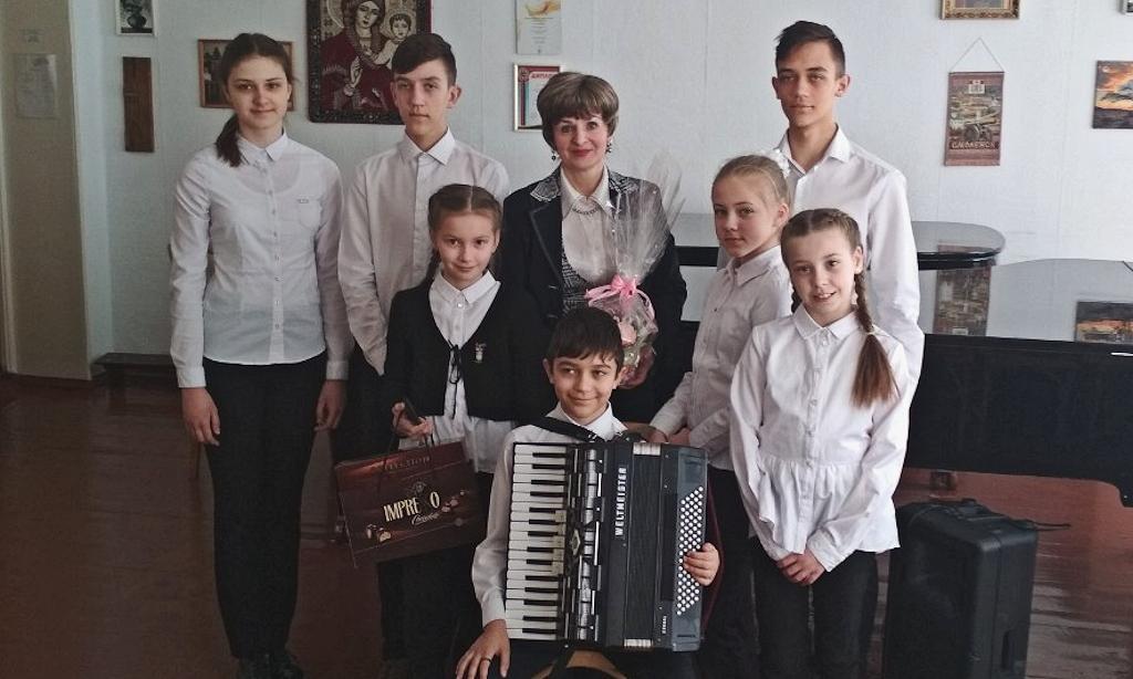 А.А. Матовицкая и ее ученики