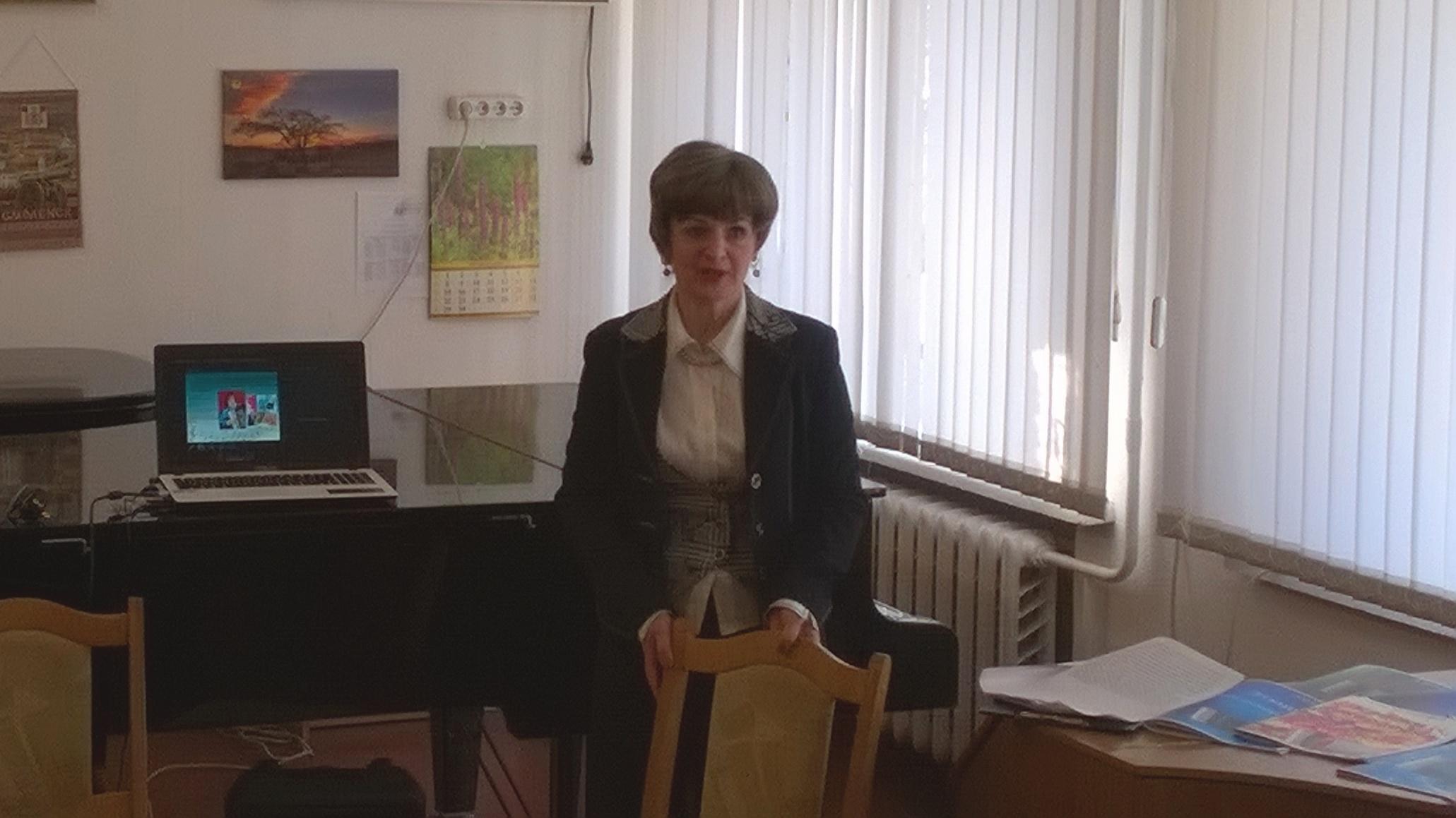 Творческая встреча с А.А.Матовицкой