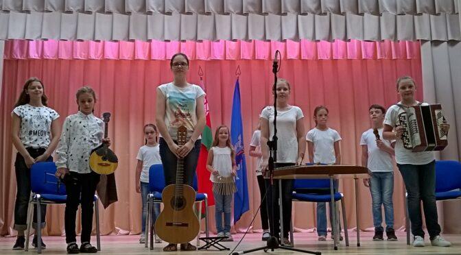 Отчетный концерт музыкального лагеря «Журавинка»-2019