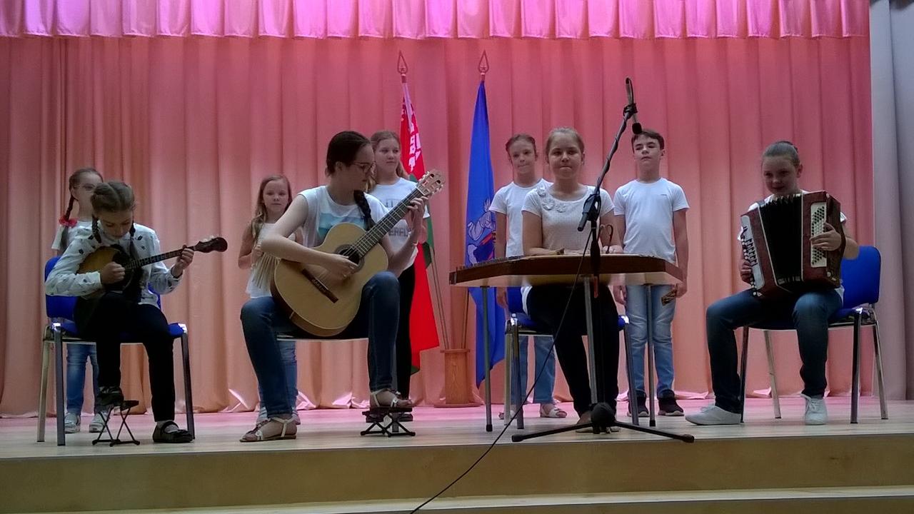 оркестр лагеря