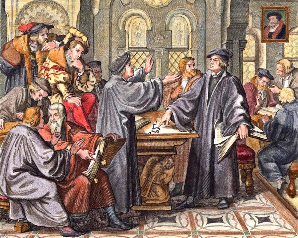 Реформация-Лютер