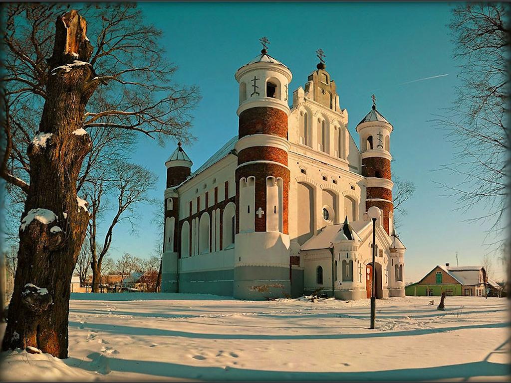 Маломожейковская церковь Рождества Богородицы XVIв-Murovanka
