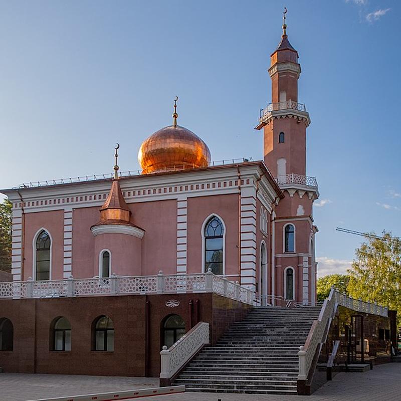 Новая мечеть в Минске