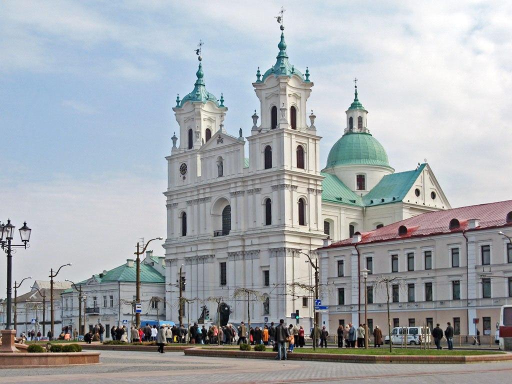 Фарный костел в Гродно