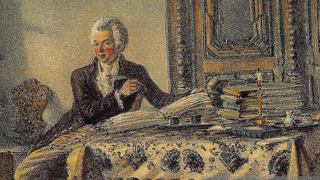 Забавные факты из жизни Моцарта