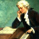 Моцарт сочиняет