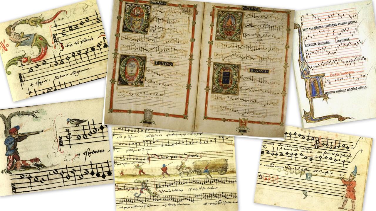 Ноты XVI века
