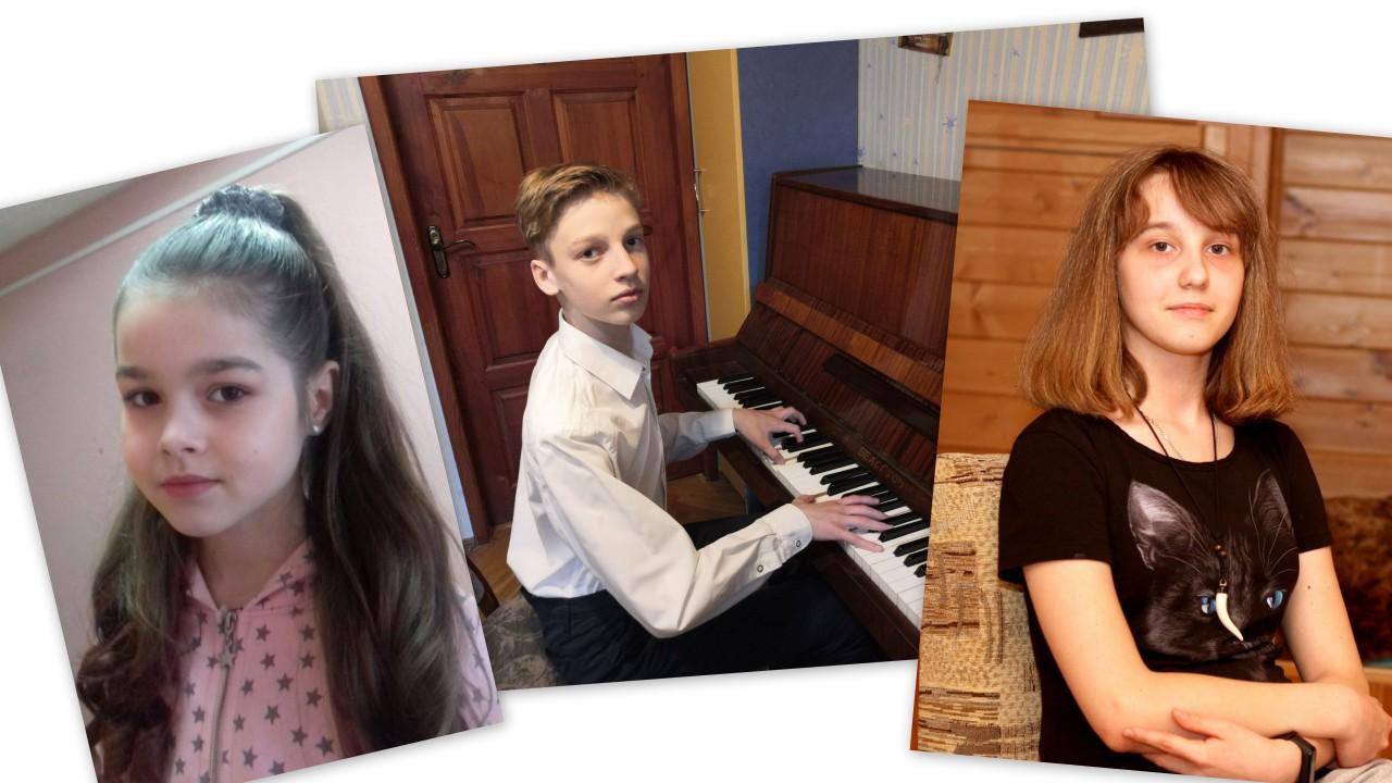 Лауреаты 2 степени в номинации Фортепиано соло