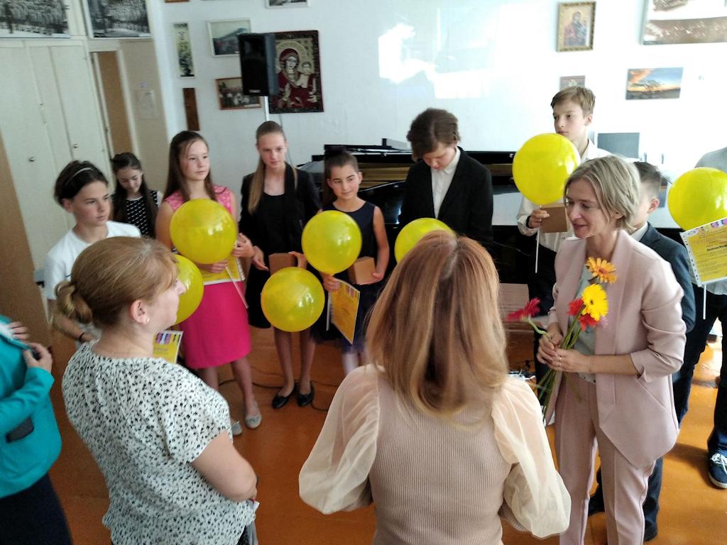 Встреча с певицей Ю.Быковой 23-07-2020