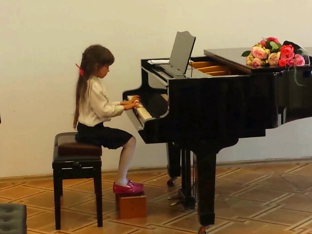 Посадка за фортепиано